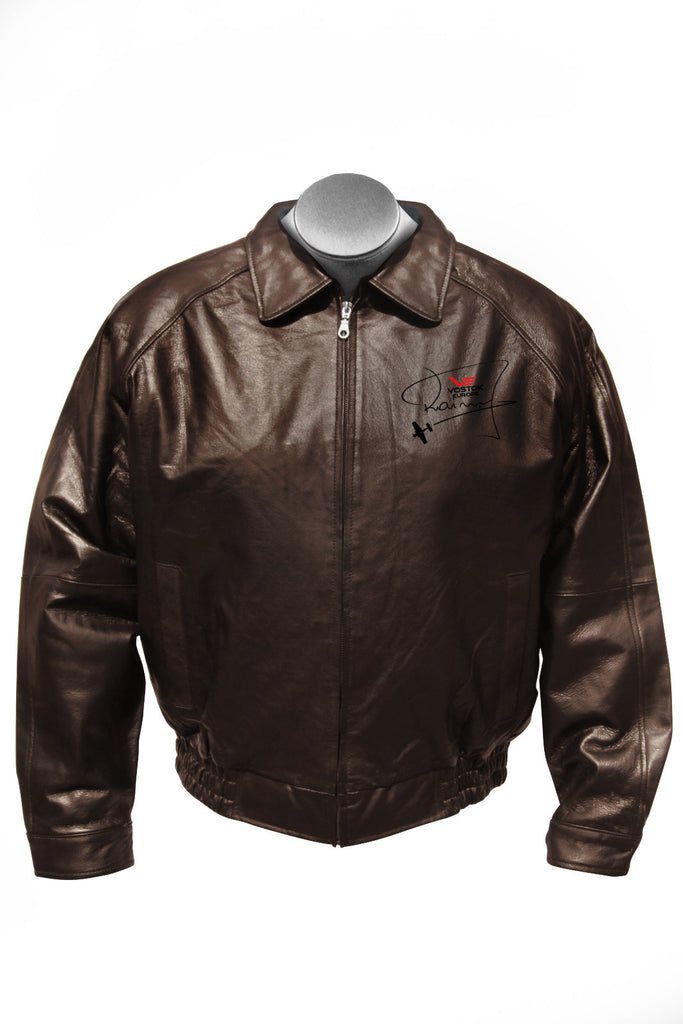 Vostok-Europe Jurgis Kairys Signature Leather Pilot Jacket