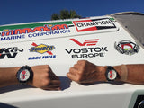 Vostok-Europe 47mm Scott Free Limited Edition Quartz Chronograph Leather Strap Watch
