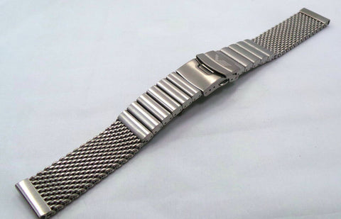 Vostok Europe Almaz Bracelet 22mm Mesh Black PVD Stainless Steel-Alm.22.B.B - Russia2all