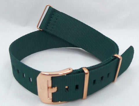 Vostok Europe Almaz NATO Ballistic Nylon Strap 22mm Green-Alm.22.N.R.G - Russia2all