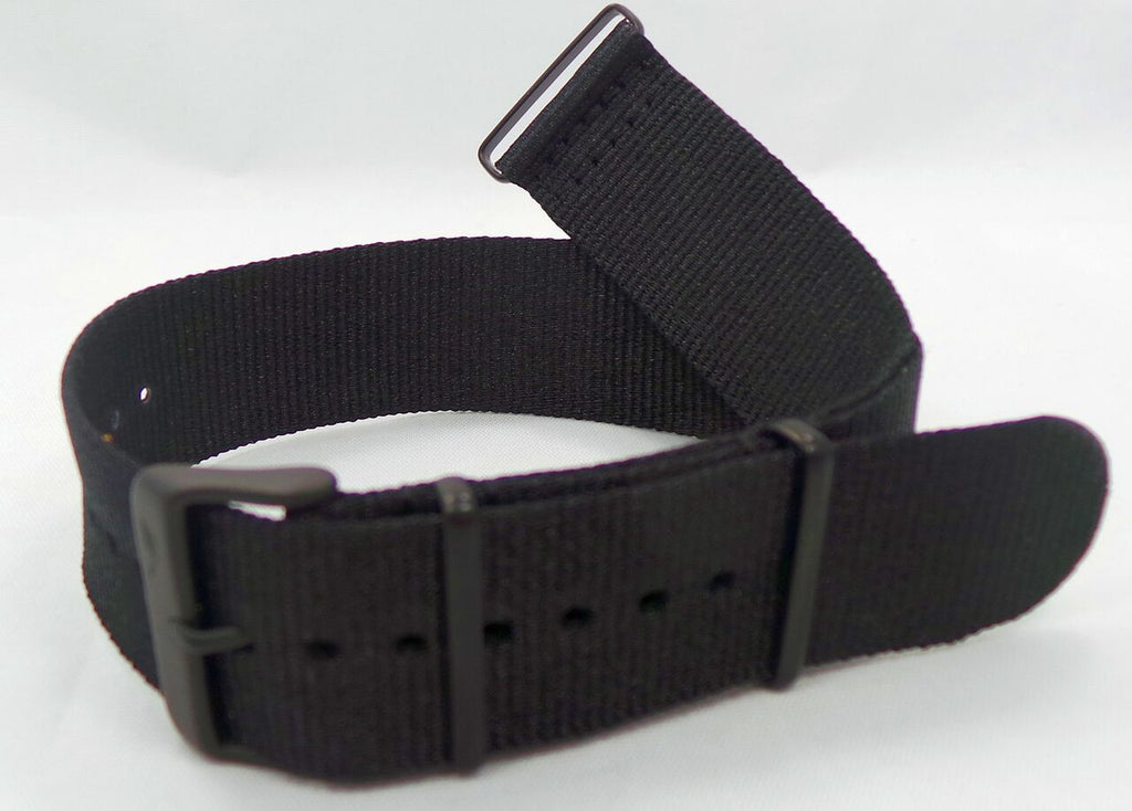 Vostok Europe Anchar NATO Ballistic Nylon Strap 24mm Black-Anc.24.N.B.Bk - Russia2all