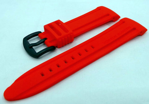 Vostok Europe Anchar Silicon Strap 24mm Red-Anc.24.S.B.R - Russia2all