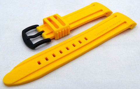 Vostok Europe Anchar Silicon Strap 24mm Yellow-Anc.24.S.B.Y - Russia2all