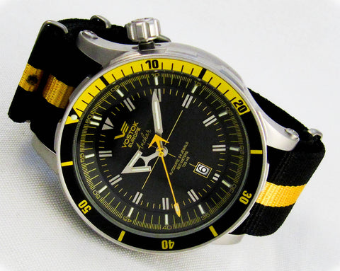 Vostok-Europe Anchar Mens Diver Watch NH35A/5105143N - Russia2all