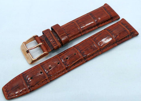 Aviator Leather Strap 20mm Brown-Avi.20.L.R.Br - Russia2all