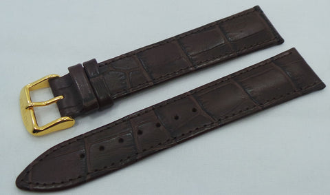 Buran Leather Strap 20mm Dark Brown-Bur.20.L.R.Db - Russia2all