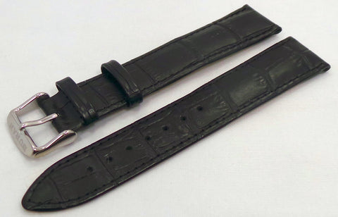 Buran Leather Strap 20mm Black-Bur.20.L.S.Bk - Russia2all