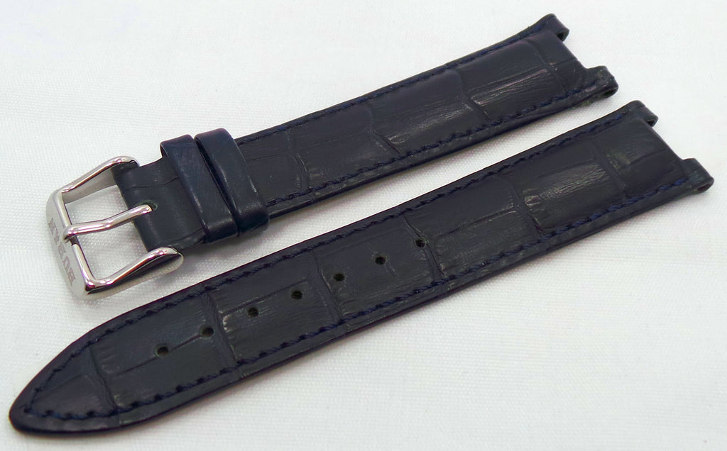 Buran Leather Strap 20mm Blue-Bur.20.L.S.Bu - Russia2all