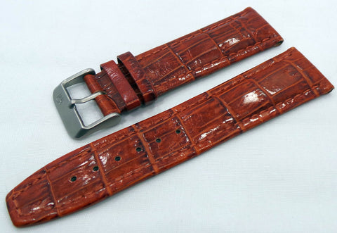 Buran Leather Strap 22mm Brown-Bur.22.L.M.Br - Russia2all