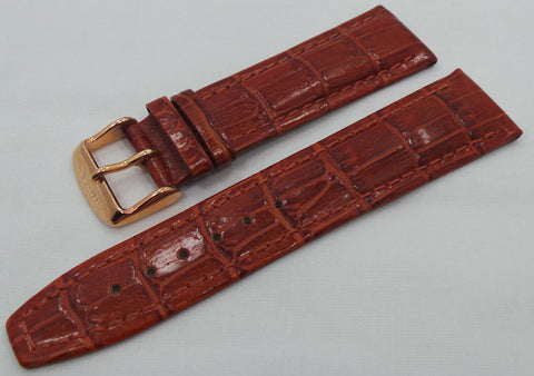 Buran Leather Strap 22mm Brown-Bur.22.L.R.Br - Russia2all