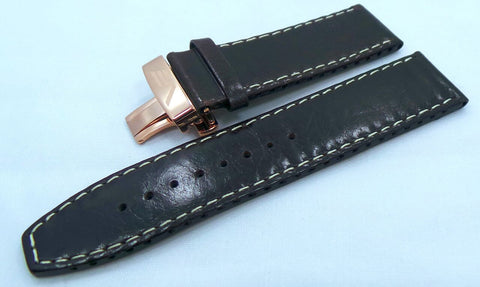 Vostok Europe Ekranoplan Caspian Sea Monster Leather Strap 25mm Brown/White-CSM.25.L.R.Br.W - Russia2all