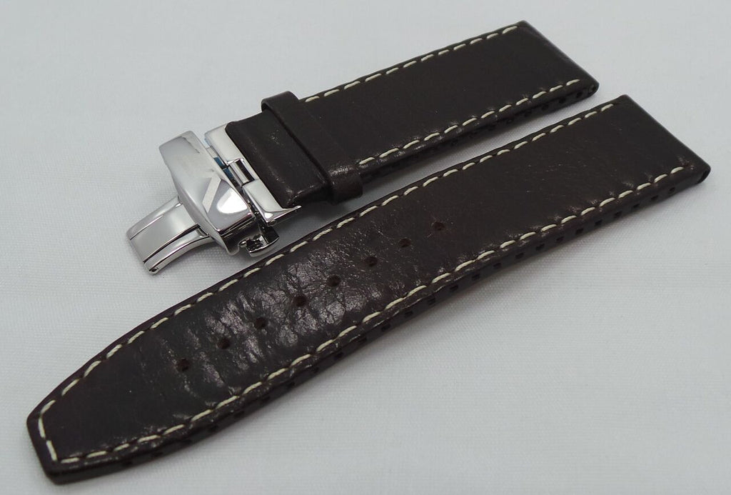 Vostok Europe Ekranoplan Caspian Sea Monster Leather Strap 25mm Black/White-CSM.25.L.S.Bk.W - Russia2all