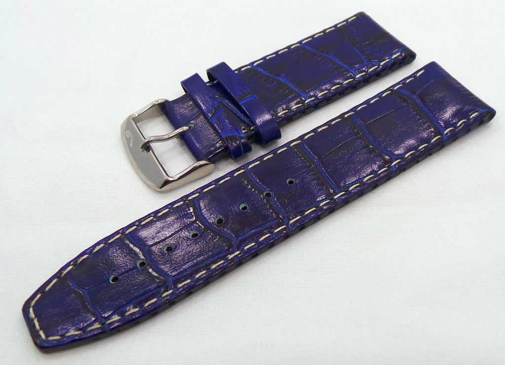 Vostok Europe Ekranoplan Caspian Sea Monster Leather Strap 25mm Blue/White-CSM.25.L.S.Bu.W - Russia2all