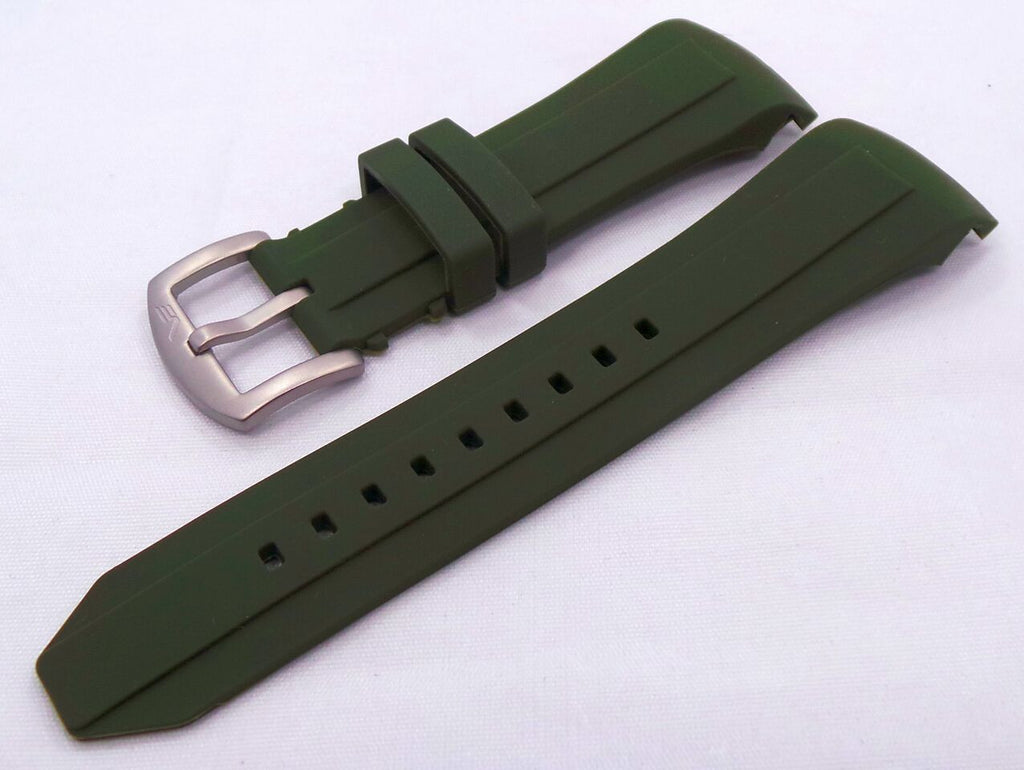 Vostok Europe Ekranoplan Caspian Sea Monster Silicon Strap 25mm Green-CSM.25.S.M.G - Russia2all