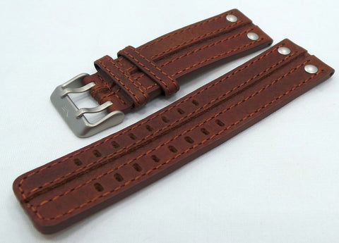 Vostok Europe Expedition North Pole Leather Strap 24mm Brown-Exp.24.L.M.Br - Russia2all