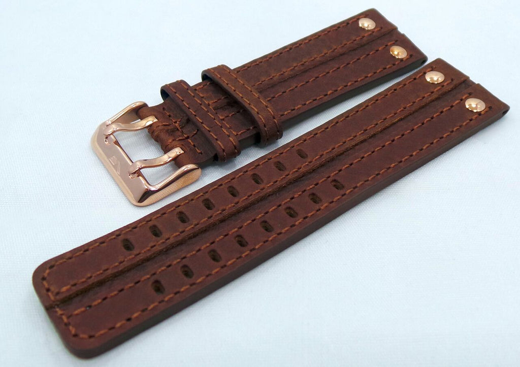 Vostok Europe Expedition North Pole Leather Strap 24mm Brown-Exp.24.L.R.Br - Russia2all