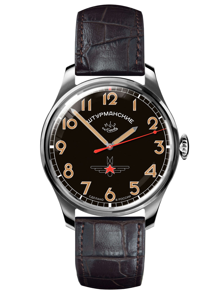 Sturmanskie Gagarin Commemorative Limited Edition Mechanical Watch 2609/3707129-Titanium - Russia2all