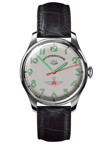 Sturmanskie Gagarin Commemorative Limited Edition Mechanical Watch 2609/3707131-Titanium - Russia2all