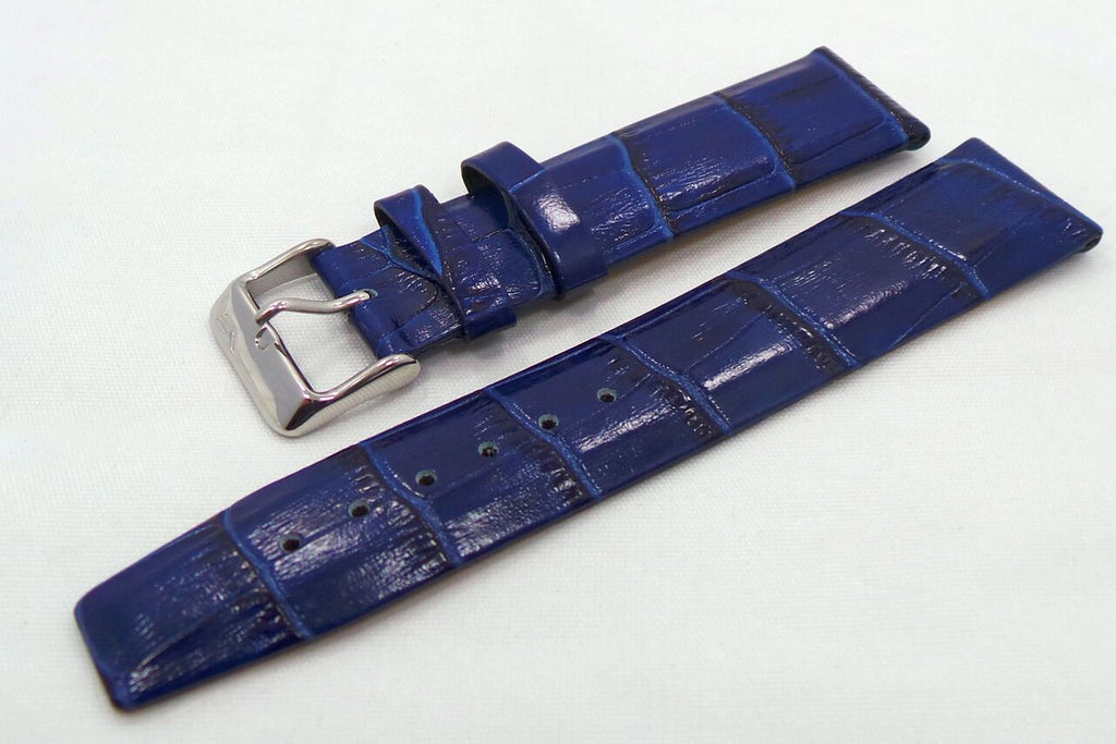 Vostok Europe Gaz-Limo Leather Strap 22mm Blue-Gaz.22.L.S.Bu - Russia2all