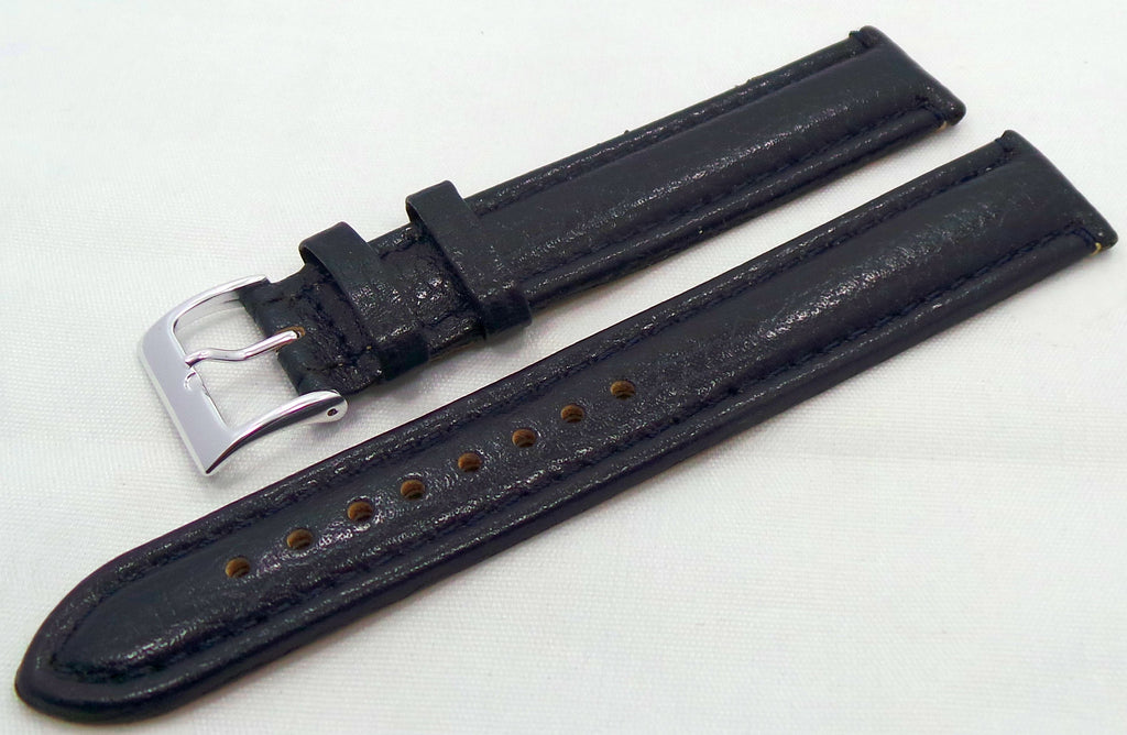 Generic Leather Strap 18mm Blue-Gen.18.L.S.Bu - Russia2all
