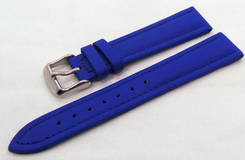 Generic Leather Strap 18mm Royal Blue-Gen.18.L.S.Rb - Russia2all