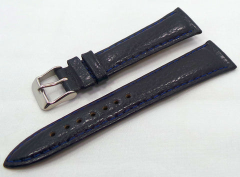 Generic Leather Strap 20mm Blue-Gen.20.L.S.Bu - Russia2all