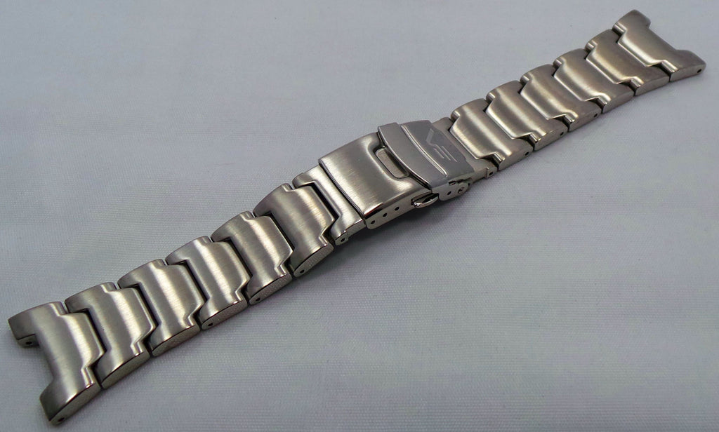 Generic Bracelet 25mm Matte Stainless Steel-Gen.25.B.S - Russia2all