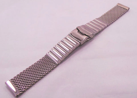 Vostok Europe Almaz Bracelet 22mm Mesh Polished Stainless Steel-Alm.22.B.S - Russia2all