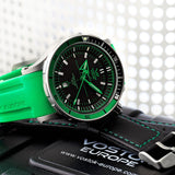 Vostok-Europe Green Color Anchar Mens Diver Watch NH35A/5107172 - 11