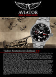 Aviator 45mm Russian Watch 3105/1735387B - Russia2all
