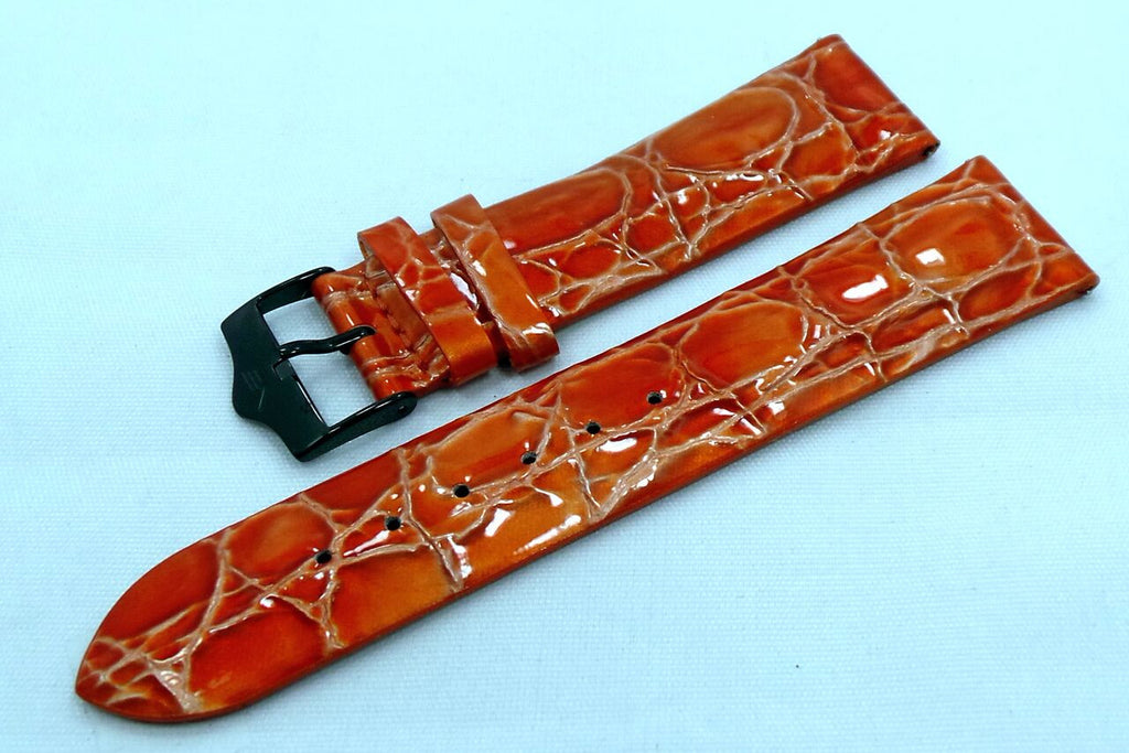 Vostok Europe Ladies N1 Leather Strap 20mm Orange-Lad.20.L.B.O - Russia2all