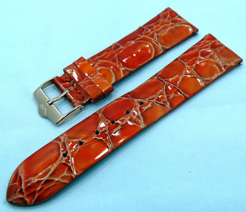 Vostok Europe Ladies N1 Leather Strap 20mm Orange-Lad.20.L.R.O - Russia2all