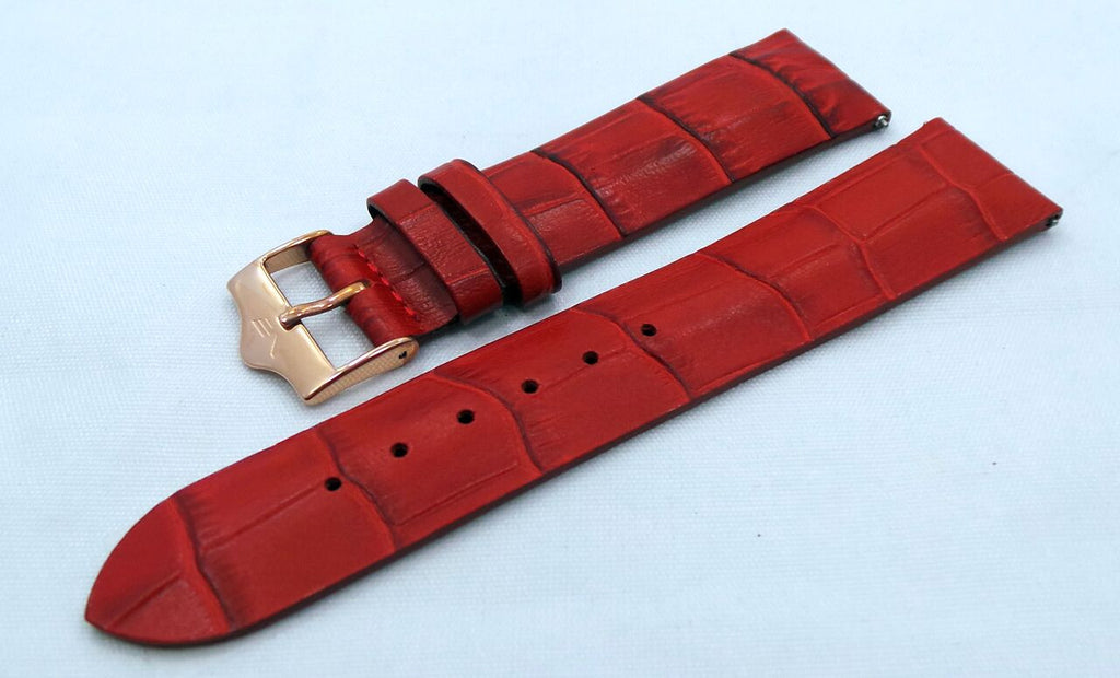 Vostok Europe Ladies N1 Leather Strap 20mm Red-Lad.20.L.R.R-Matte - Russia2all
