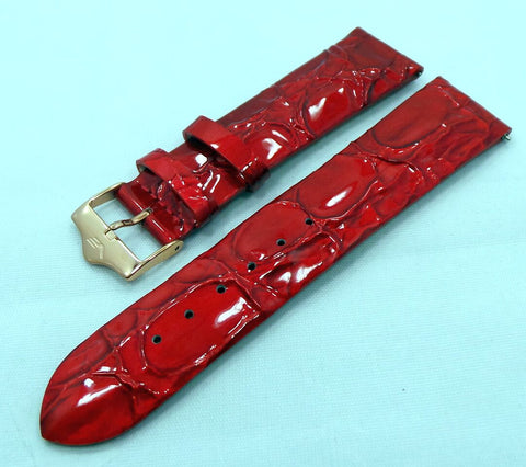 Vostok Europe Ladies N1 Leather Strap 20mm Red-Lad.20.L.R.R-Polished