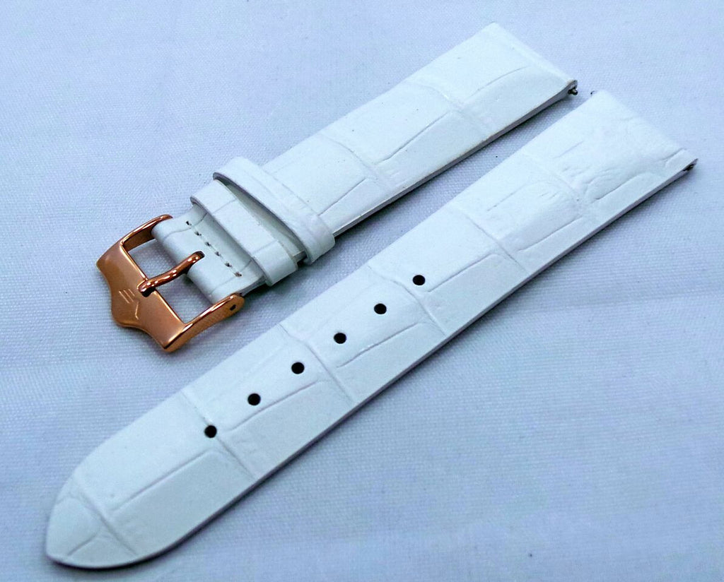 Vostok Europe Ladies N1 Leather Strap 20mm White-Lad.20.L.R.W