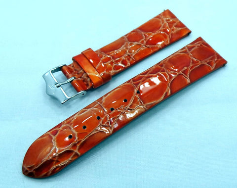 Vostok Europe Ladies N1 Leather Strap 20mm Orange-Lad.20.L.S.O