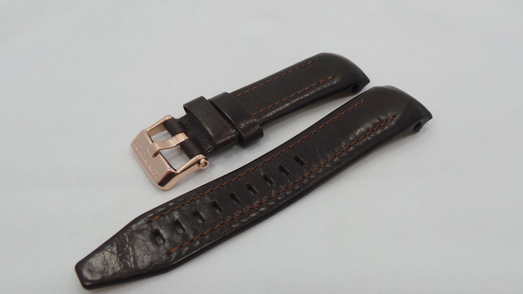 Vostok Europe Lunokhod Leather Strap 25mm Brown-Lun.25.L.R.Br - Russia2all