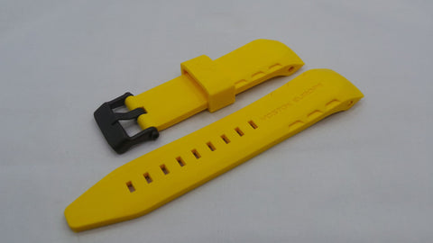 Vostok Europe Lunokhod Silicon Strap 25mm Yellow-Lun.25.S.B.Y - Russia2all