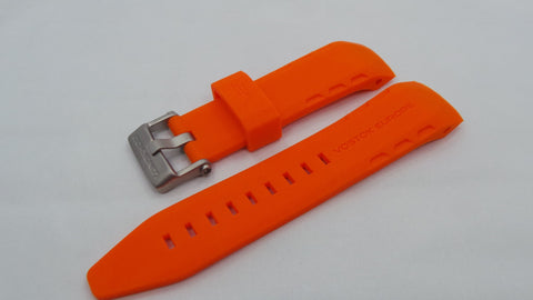 Vostok Europe Lunokhod Silicon Strap 25mm Orange-Lun.25.S.M.O - Russia2all