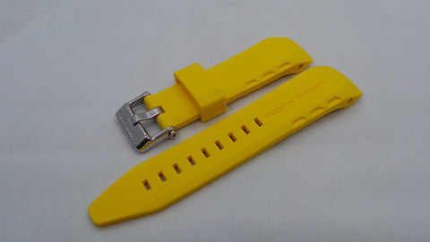 Vostok Europe Lunokhod Silicon Strap 25mm Yellow-Lun.25.S.S.Y - Russia2all