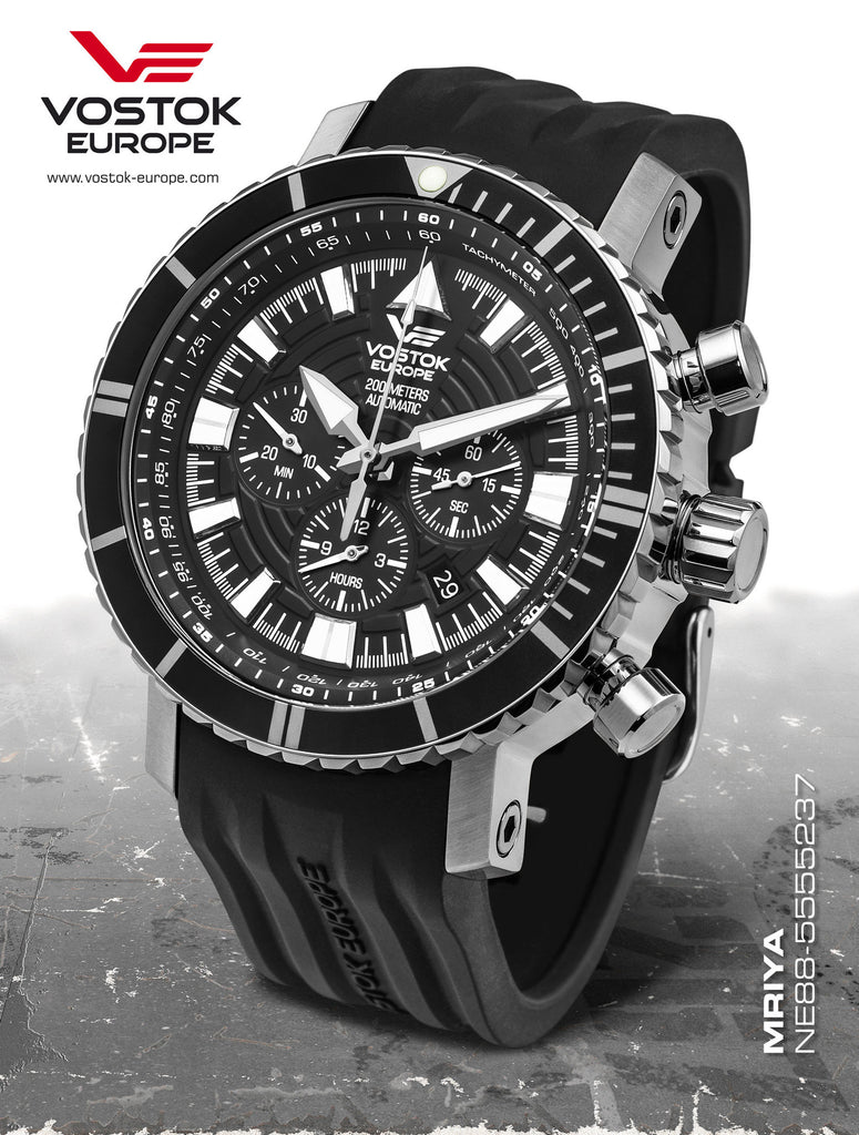 Vostok-Europe Mriya Automatic Chronograph Watch NE88/5555237 - 1