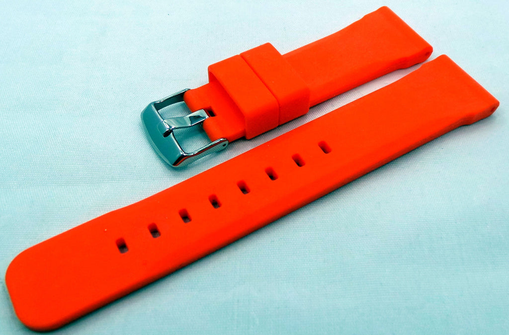 Moscow Classic Silicon Strap 22mm Orange-MC.22.S.S.O - Russia2all