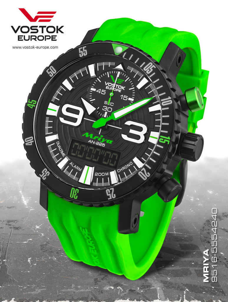 Vostok-Europe Mriya AnaDigi Watch 9516/5554251 - 1