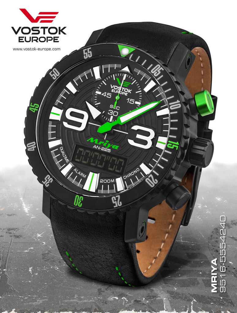 Vostok-Europe Mriya AnaDigi Watch 9516/5554251 - Russia2all