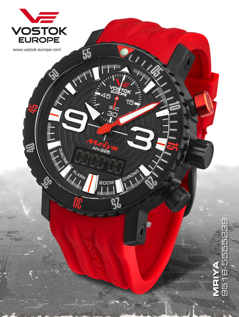 Vostok-Europe Mriya AnaDigi Watch 9516/5554250 - Russia2all