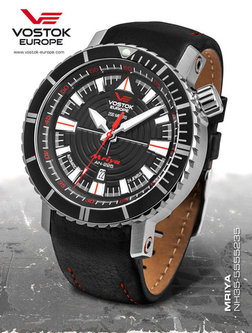 Vostok-Europe Mriya Automatic Watch NH35A/5555235 - 1