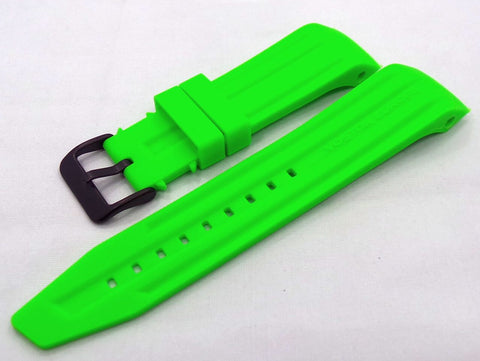 Vostok Europe Mriya Silicon Strap 24mm Green-Mry.24.S.B.G - Russia2all