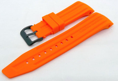 Vostok Europe Mriya Silicon Strap 24mm Orange-Mry.24.S.B.O - Russia2all