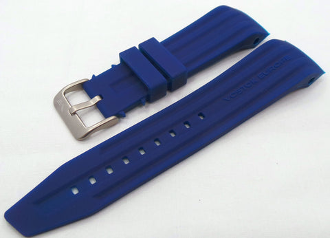 Vostok Europe Mriya Silicon Strap 24mm Blue-Mry.24.S.M.Bu - Russia2all