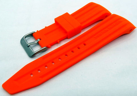 Vostok Europe Mriya Silicon Strap 24mm Orange-Mry.24.S.M.O - Russia2all